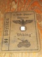WW2 German, Nazi,5. SS Panzer Division Wiking   ID, Document Auswies, Not Original (?) - 1939-45