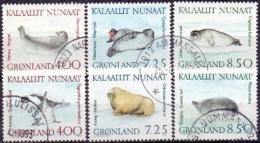 GROENLAND 1991 Robben GB-USED. - Gebraucht