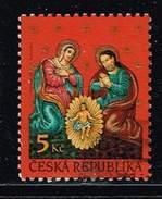 Tschechische Republik 2000, Michel# 277 O     Christmas - Tschechische Republik