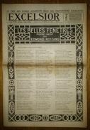 """Excelsior 2725 - 02/05/1918 - Les Belles Fenêtre Poème Inédit Par Edmond Rostand - Affaire Du """"Bonnet Rouge"""" - Journaux - Quotidiens"""