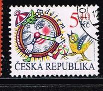 Tschechische Republik 2000, Michel# 258 O For Children - Alarm Clock - Tschechische Republik