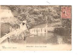 CPA 83 SOLLIES PONT Ecluse Saint Victor  1908 Vue Peu Commune - Sollies Pont