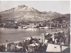Foto 1870  Luzern & Pilatus Kitchberg - Luoghi