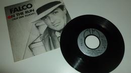 45T - Falco - On The Run - Vinyl Records