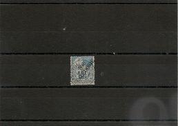 NOUVELLE CALÉDONIE  Année 1892 N° Y/T :26 Belle Oblitération - Gebraucht