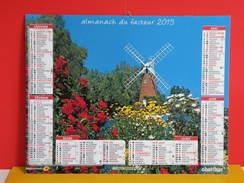 Calendrier Oberthur > Moulin Et Moulin à Vent Royaume Uni,  - Almanach Facteur 2015 Comme Neuf - Calendars