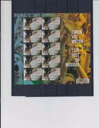 Belgie -Belgique 4357 Velletje Van 10 Postfris - Feuillet De 10 Timbres Neufs  - Muziekfestivals In Belgie - Feuilles Complètes