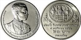 """TAILANDIA  20  BAHT    2.014  """"120 Aniversario Del Nacimiento Del Rey Rama VII""""    SC/UNC   T-DL-11.108 - Tailandia"""