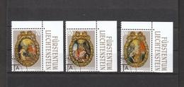 Liechtenstein  Gestempelt  1275-1277 Weihnachten Postpreis  2,90 CHF