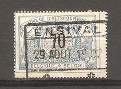 Chemin De Fer - Spoorweg TR23 Obl.Ensival 29/8/1902 CF126 - Chemins De Fer