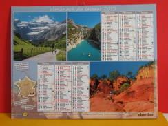 Calendrier Oberthur > Paysage De France, Gouffre De Padirac, Georges Du Verdon... - Almanach Facteur 2015 Comme Neuf - Calendriers