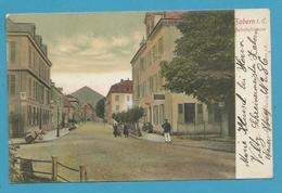 CPA Bahnhofstrasse ZABERN SAVERNE 67 - Saverne