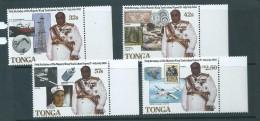 Tonga 1988 King's Birthday Set 4 MNH - Tonga (1970-...)
