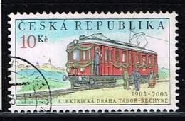 Tschechische Republik 2003, Michel# 358 O 100 Years Of The Křižík First Electric Railway - Usados