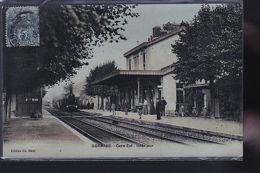 JONCHERY SUR VESLE    LE TRAIN     ET SA GARE - Non Classés