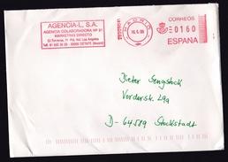 Spain: Cover To Germany, 2000, Meter Cancel, Marketing Agency (minor Creases) - 1931-Tegenwoordig: 2de Rep. - ...Juan Carlos I