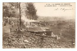 51 - GRANDE GUERRE EN ARGONNE LA HARAZÉE INSTALLATION EN FORET - COMMERCY 19/10/1919 POUR TRÉLOUP AISNE- 2 Scans - - Autres Communes