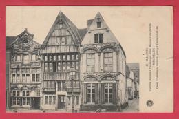 Mechelen - Oude Vlaamsche Huizen , Gezegd Duivelshuizen - 1921 ( Verso Zien ) - Malines