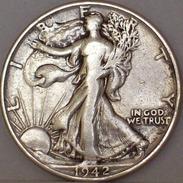 STATI UNITI Mezzo Dollaro Liberty 1942 MONETA In ARGENTO - Emissioni Federali