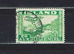 ICELAND...airmail...1934...used - Airmail