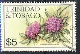 #Trinidad & Tobago 1983. Flowers. Michel 493.  Used - Trinidad Y Tobago (1962-...)