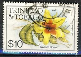 #Trinidad & Tobago 1983. Flowers. Michel 494.  Used - Trinidad Y Tobago (1962-...)