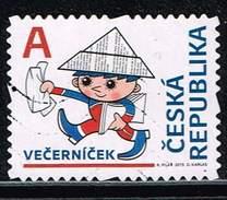 """Tschechische Republik 2015, Michel# 838 O For Children - Večerníček """"A"""" - Tschechische Republik"""