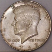 STATI UNITI Mezzo Dollaro Kennedy 1967 MONETA In ARGENTO - Federal Issues