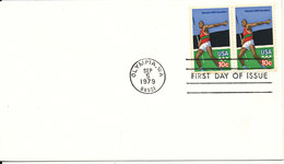 USA FDC Olympic Games 1980 5-9-19179 - Summer 1980: Moscow