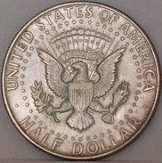 STATI UNITI Mezzo Dollaro Kennedy 1968 MONETA In ARGENTO - Federal Issues
