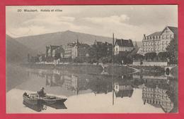 Waulsort - Hôtels Et Villas - S.B.P. -1910 ( Voir Verso ) - Hastière