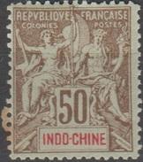 Indochine 1900 N° 21 MH FOURNIER   (D17) - Indochine (1889-1945)