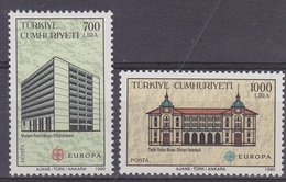 Europa Cept 1990 Turkey 2v  ** Mnh (34620B) - 1990