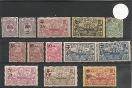 NOUVELLE CALÉDONIE Année 1922/27 N°Y/T: 136/138* - Ungebraucht