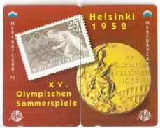 UK (Mercury) - Olympics - Helsinki 1952 - 1.044ex, Mint Puzzle Set Of 2 - Reino Unido