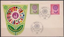 BRD FDC 1964 Nr.445 - 446 Europa (d 4390 ) - BRD