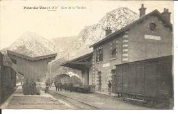 06 - LA VÉSUBIE   La Gare - France