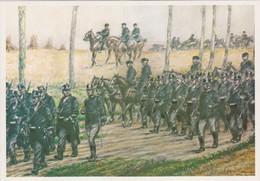 HALEN-LOKSBERGEN-SLAG DER ZILVEREN HELMEN-OORLOG-1914-1918-4DE GEMENGDE BRIGADE-NIET VERSTUURD-ZIE 2 SCANS ! ! ! - Halen