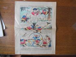 IMAGERIE D'EPINAL N° 2640 M. LEMYOPE CHASSE LA GROSSE BÊTE LES TISSAGES DE PROVINCE 15 RUE D'ISLE A SAINT QUENTIN - Documentos Antiguos