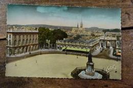 54, NANCY, LA PLACE STANISLAS, L'ARC DE TRIOMPHE ET L'EGLISE SAINT EPVRE - Nancy
