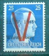 Lokalausgabe Saulgau Mi. VIII  Postfrisch / ** - Zona Sovietica