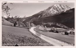 Deutsche Alpenstraße Gegen Watzmann, Kahlersberg U. Schneibstein (1365) - Berchtesgaden
