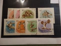 Hongrie-1956 - Jeux Olympiques De Melbourne- Yver Et Tellier 1202-1209 Oblitéré