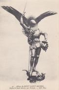 50 - LE MONT SAINT MICHEL - Statue De Saint-Michel - Le Mont Saint Michel