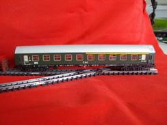 Trains électriques, Echelle N - Voiture Voyageurs CSD 1er Et 2ème Classe - Livrée Verte - Voitures Voyageurs