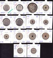 14 Munten, Alleen Maar Voor Stempel57 - 08. 50 Francs
