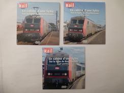 TRAINS : EN CABINE D'une SYBIC Sur La LIGNE Du BOURBONNAIS (PARIS-BERCY à NEVERS) - LOT De 3 DVD La Vie Du Rail - Documentary