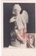 Carte Maximum FRANCE N° Yvert 877 (FALCONET - L'AMOUR) Obl Sp Ill - 1950-59
