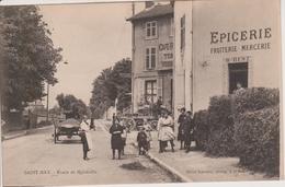 54 - SAINT MAX - ROUTE DE MALZEVILLE - CAFE ET EPICERIE - BELLE CARTE - France