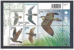 Finlande 1999 Bloc N°22 Neuf Faune, Oiseaux Chanteurs Des Nuits D´été